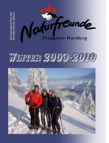 übersicht winter 2009 / 2010 - pregarten - Naturfreunde