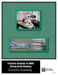 Fracture Analysis of AHSS Draw - Auto/Steel Partnership