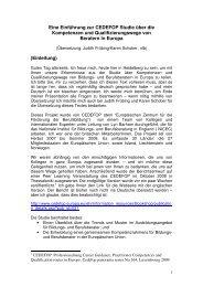 Vortrag - Nationales Forum Beratung in Bildung, Beruf und ...