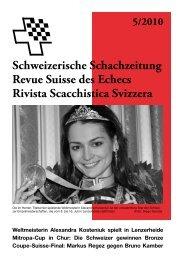 Markus Regez – FM Bruno Kamber - Schweizer Schachbund