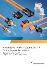 Alternative Power Systems - TE Connectivity
