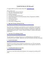 websites - Academy of Management Online