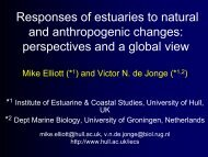 Responses of estuaries to natural and ... - University of Hull