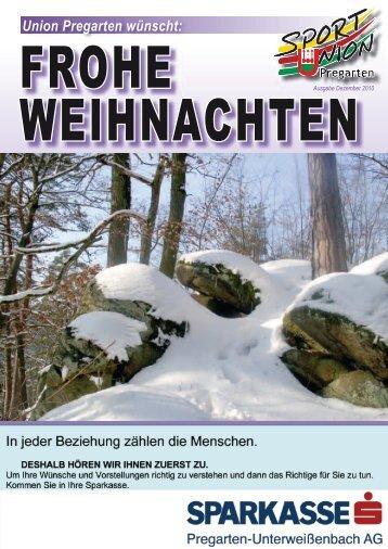 Dezember 2010 (PDF Größe: 5.27 MB) - Union Pregarten