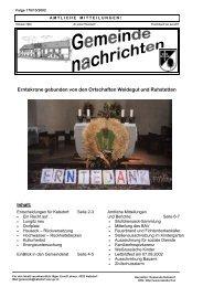 AUSSCHREIBUNG - Mitarbeiter/in für die Bauverwaltung - Katsdorf