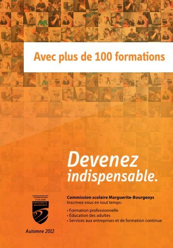 Automne 2012 - CS Marguerite-Bourgeoys