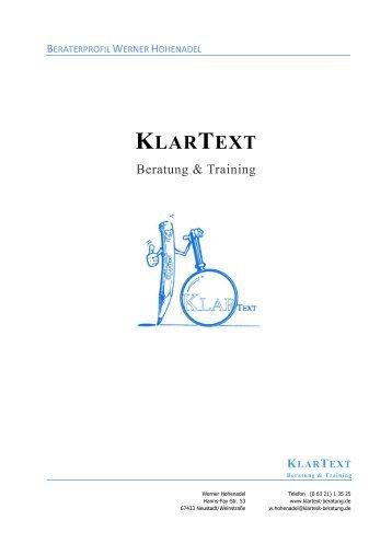 KlarText Beratung & Training