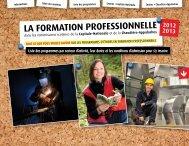 LA FORMATION PROFESSIONNELLE - Inforoute FPT