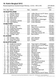 16. Katrin Berglauf 2012 - Katrinberglauf Bad Ischl