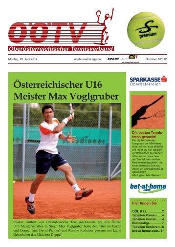 Österreichischer U16 Meister Max Voglgruber - ASKÖ Steyrermühl ...