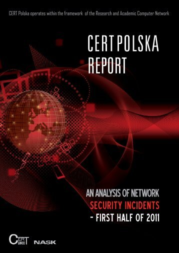 Analysis of incident submissions coordinated by CERT Polska
