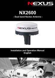 NX2600 - Nexus Marine