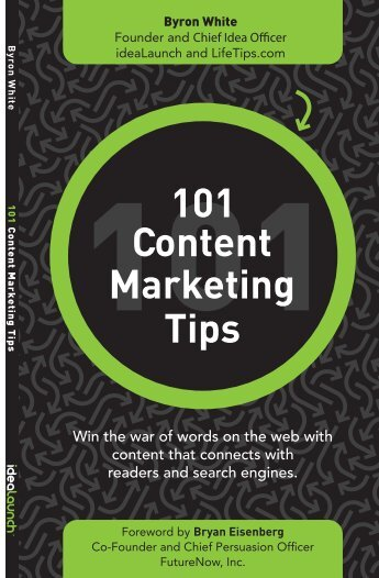 Content Marketing Tips 101 - ContentMarketingPedia
