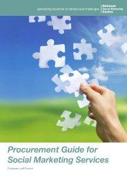 NSMC procurement guide for social marketing services