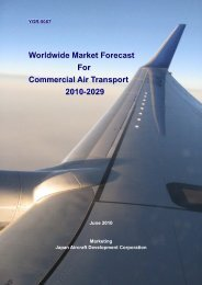 Worldwide Market Forecast For Commercial Air Transport 2010-2029