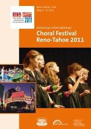 Choral Festival Reno-Tahoe 2011 - interkultur.com