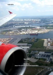 Worldwide Market Forecast For Commercial Air Transport 2012-2031