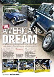 Dream - The Man For Land Rovers