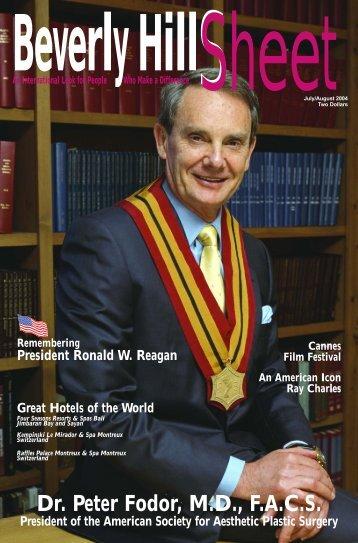 Dr. Peter Fodor, M.D., F.A.C.S. - Beverly Hills Sheet Official Website