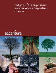 Accenture Code of Business Ethics 2010