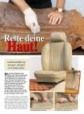 Interieur selbst restaurieren Interieur selbst ... - Ledermanufaktur - Seite 2