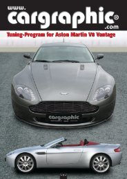 Tuning-Program for Aston Martin V8 Vantage