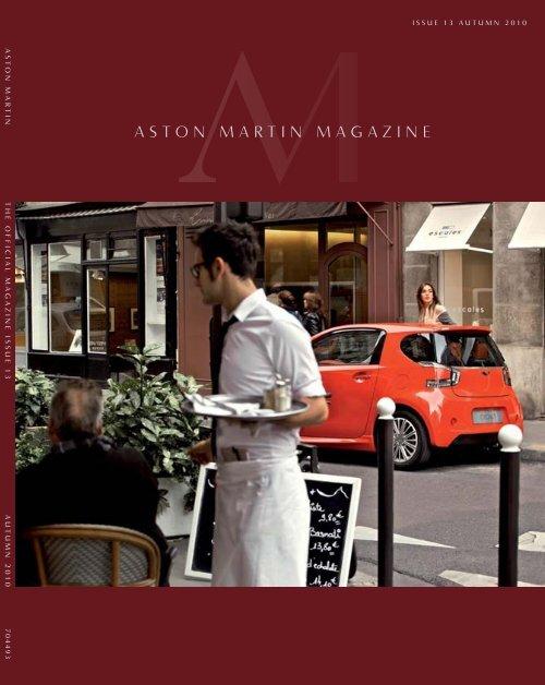Aston Martin Magazine Aston Martin