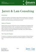 Palustris Recruitment Software By Jarrett & Lam Consulting Tel: +44 ... - Page 3