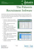 Palustris Recruitment Software By Jarrett & Lam Consulting Tel: +44 ... - Page 4