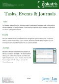 Palustris Recruitment Software By Jarrett & Lam Consulting Tel: +44 ... - Page 7