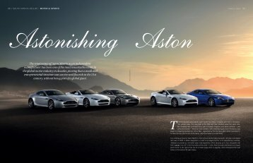 The renaissance of Aston Martin as an independent manufacturer ...