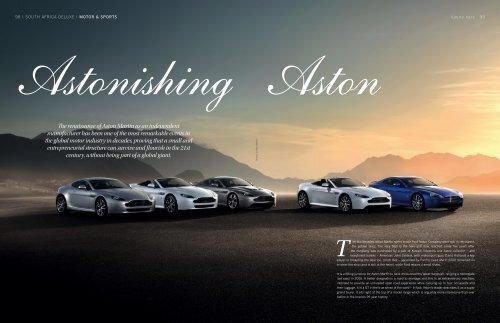 The renaissance of Aston Martin as an independent manufacturer ...