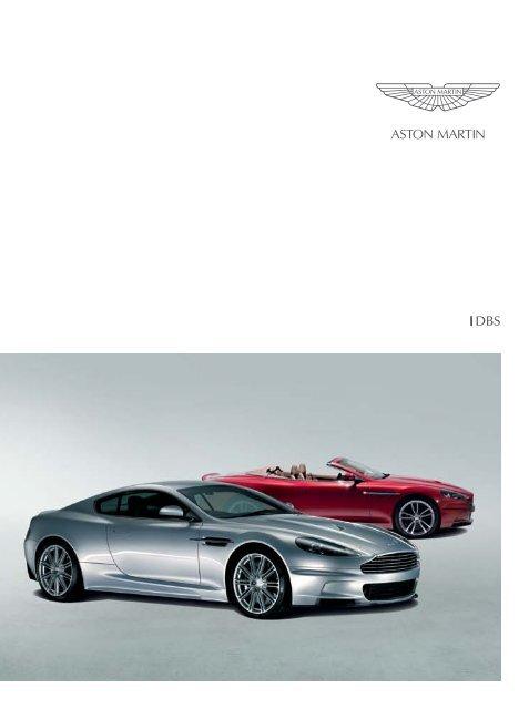Brochure Aston Martin