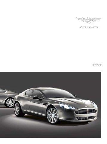 wORLD'S MOST ELEGANT FOUR-DOOR - Aston Martin