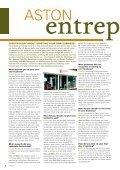 Aston entrepreneurs GlobAl chAllenGe where Are ... - Aston University - Page 6