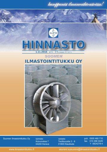 HINNAS ASTO - Suomen Ilmastointitukku Oy