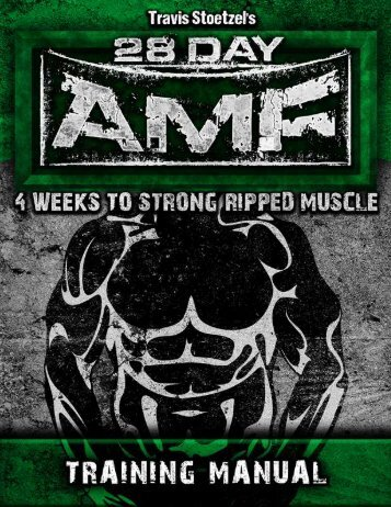 HEAVY / INTENSE DAY - 28 Day Athletic Muscle Formula