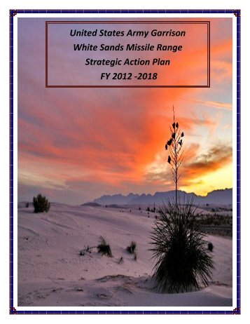 LOE 1 - White Sands Missile Range Home Page - U.S. Army