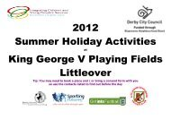 bank holiday monday so no activities - Littleover Community School