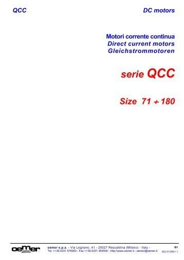 QCC DC motors - MOLL-MOTOR