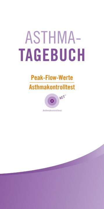 Asthma Tagebuch | download (pdf, 482k) - NetDoktor.at