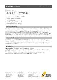 Bakit PV-Universal_de.pdf - Kiesel Bauchemie GmbH & Co.KG