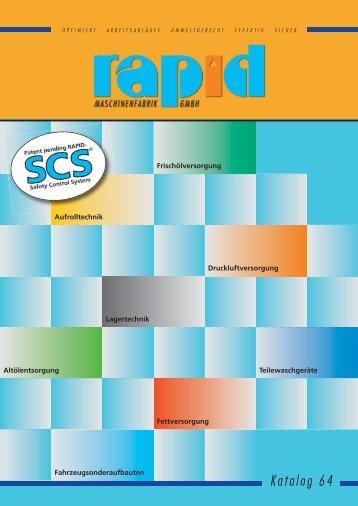 PDF-Katalog der Rapid Maschinenbau GmbH - Das Arbeitsschutz ...
