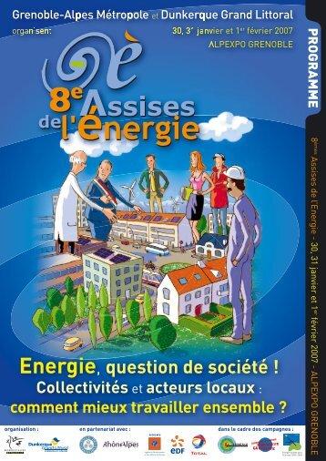 8h30 - 12h30 - Assises de l'energie