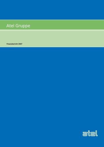 Atel Gruppe: Finanzbericht 2007 PDF (2.5 MB) - Alpiq