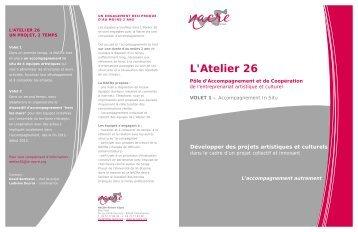 L'Atelier 26 Pôle d'Accompagnement et de Coopération - La NACRe