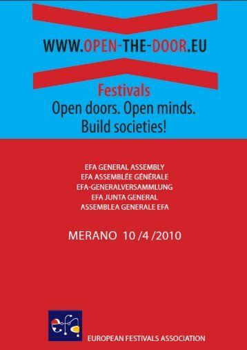 Untitled - European Festivals Association