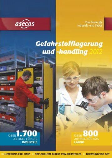 Gefahrstofflagerung und -handling 2012 - Maag Technic AG