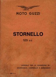Stornello 125 Sport - Manuel d'Atelier