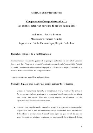 Atelier 2 Gt 1 les publics_rapporteurs_EF_BG - conseils de quartier